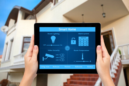 Smart home control with tablet.  Photo: Denys Prykhodov / fotolia.com